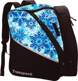 Transpack Edge Jr Boot Bag Pink Snowflake