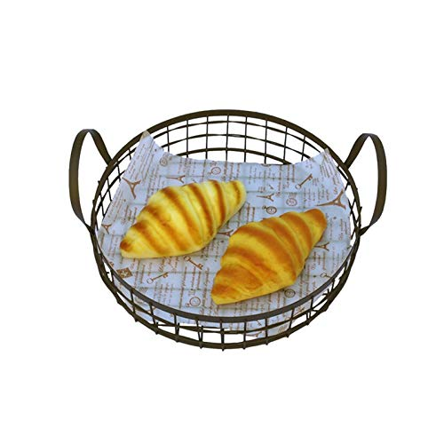 Storage Proving Pastry Dough Basket Diniwell Proofing Art Iron Food Tyro Containers Round Fruit Bread Baskets ApTSO