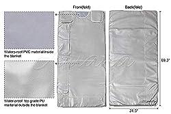 Ariana Spa Supplies : 3 Zone Digital Far-Infrared (FIR) Heat Sauna Blanket