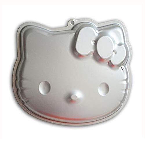 ZJWEI 10 Inch Plane Aluminum Alloy 3D Cake Mold Baking Mould Tin Cake Pan - Lucky Cat2
