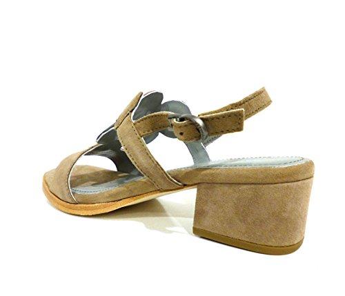 Apepazza Mujer Erika crosta taupe zapatos con correa