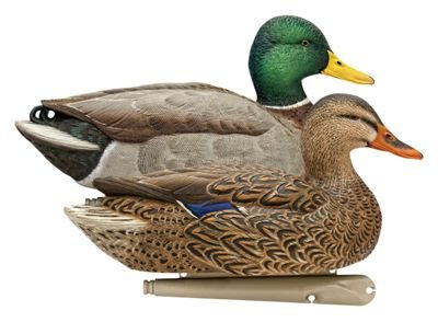 AvianX Top Flight Duck Open Water Mallard Decoy (6 Pack),