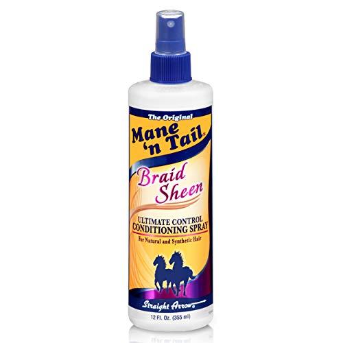 Mane N Tail Braid Sheen Spray, 12 Oz