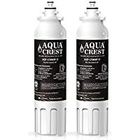 AQUACREST LT800P NSF 401,53&42 Replacement Refrigerator Water Filter, Compatible with LG LT800P, ADQ73613401, ADQ73613402, Kenmore 9490, 46-9490 (Pack of 2)