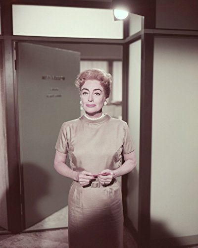 Joan Crawford in The Best of Everything standing in office 16x20 Canvas Giclee (Joan Crawford The Best Of Everything)