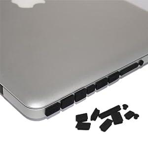 Amazon Com Skque Black Anti Dust Plug Cover For Apple