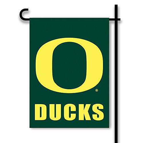 NCAA Oregon Ducks 2-Sided Garden Flag, Team Color ()