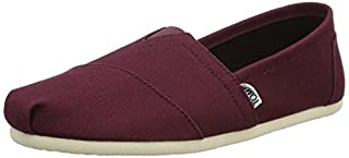 TOMS Men's Classic Canvas Slip-On, Red Mahogany - 12 D(M) US (B0113PMS1E) | Amazon price tracker / tracking, Amazon price history charts, Amazon price watches, Amazon price drop alerts