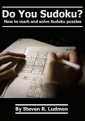 You Sudoku mark solve puzzles ebook product image