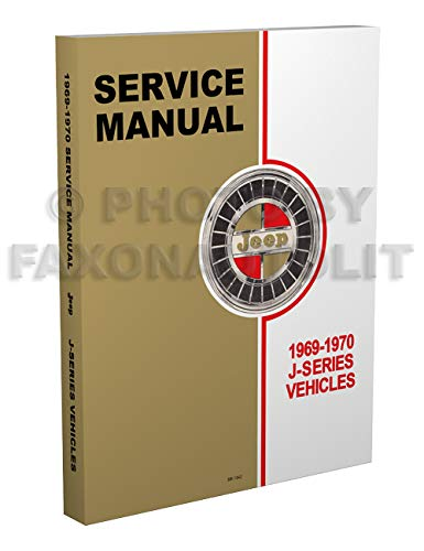 1969-1970 Jeep Gladiator & Wagoneer Repair Shop Manual Reprint