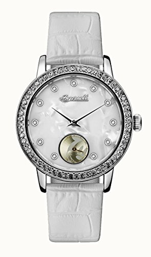 Ingersoll Women's Quartz Stainless Steel Casual Watch, Color:White (Model: ID00701)