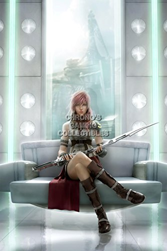 """Price comparison product image CGC Huge Poster - Final Fantasy XIII Lightning Returns PS3 PS4 XBOX 360 - FXIII011 (24"""" x 36"""" (61cm x 91.5cm))"""