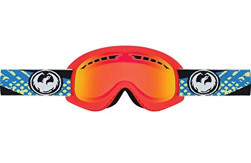 Dragon Alliance DXS Future Ski Goggles, Red