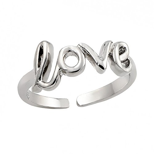 Sterling Silver .925 Knuckle / Toe Rings - (Butterfly Silver Toe Ring)