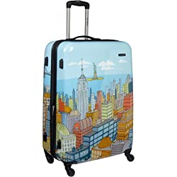Samsonite Luggage NYC Cityscapes Spinner 28
