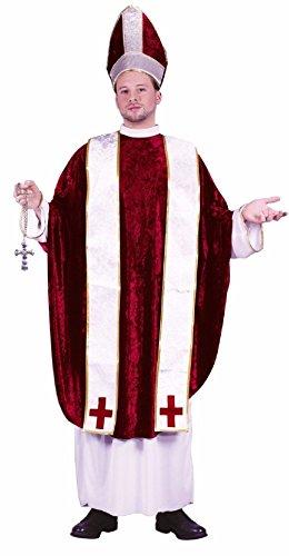 Pilgrim Running For Costume (Cardinal Catholic Priest Bishop Pope Adult)