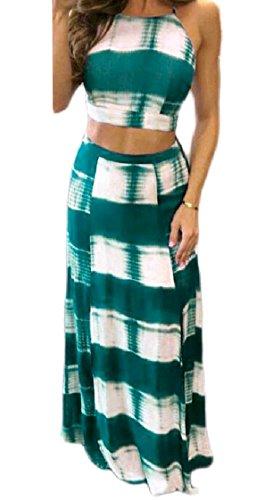 Moda Del Coolred Di Pezzi Randello Rampa A Fionda Della Partito Due Backless donne Vestito Ritagliati Del Pendenza Pattern7 Alla rrW4EHF