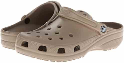 Crocs Unisex Classic Clog, Khaki, 9 US Men / 11 US Women