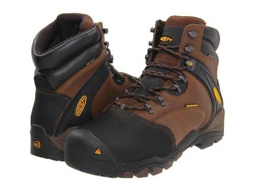 Keen Utility(キーン) メンズ 男性用 シューズ 靴 ブーツ 安全靴 ワーカーブーツ Louisville Met Slate Black [並行輸入品] B07BMGJYFT 10.5 D Medium