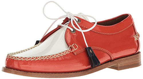 Gh Bass & Co. Vrouwen Winnie Smoking Loafer Poppy / Wit
