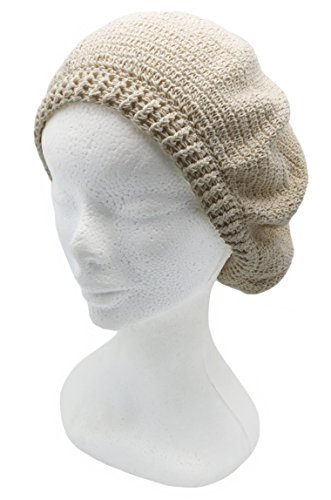 Crocheted 100% by Hand Organic Cotton Beret Hat (CUSTOM MADE)