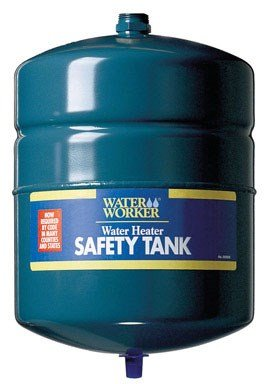 WaterWorker G-12L Tank without Valve Water Heater Expansion Safety Tank, 4.4-Gallon Capacity, Green by Water Worker