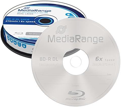 Mediarange Mr507 Bd R Dual Layer Blu Ray Disc Computer Zubehör