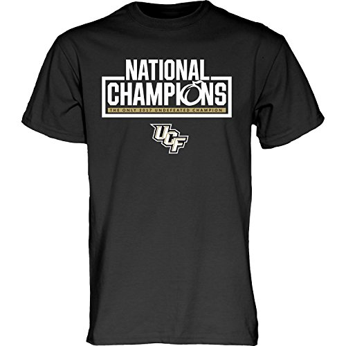 National Champions Tee (Central Florida UCF Knights 2017 Undefeated National Champs Best T-Shirt (2XL))