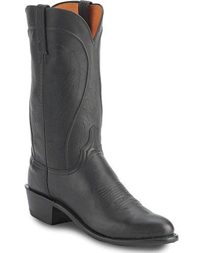 - Lucchese Men's Handmade 1883 Cole Ranch Hand Boot Black 10 D(M) US