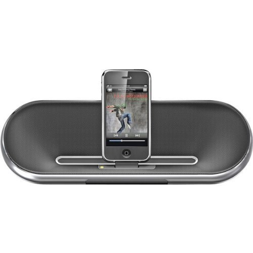 Philips Fidelio Ds7550 2.0 Speaker System - 10 W Rms - Aluminum - Ipod Supported