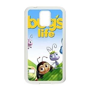 Samsung Galaxy S5 Cell Phone Case White Bugs Life PCJ Phone Case Custom Design