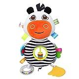 ADESHOP Educational Toys, Plush Toys Developmental Intelligence Toy Bed Hanging Infant Kids Soft Sound Toys