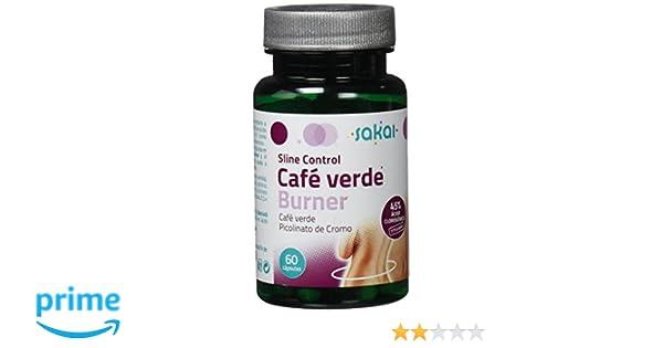 SAKAI SLINE CONTROL CAFÉ VERDE BURNER 60 Cápsulas: Amazon.es: Salud y cuidado personal