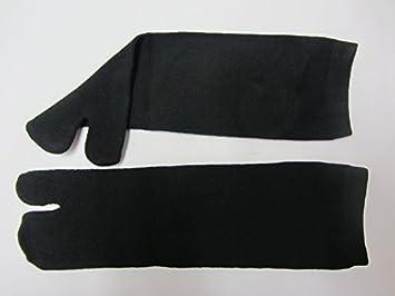 Japonés Tabi De Ninja Calcetines Negros (Adulto) X 2 PARES ...