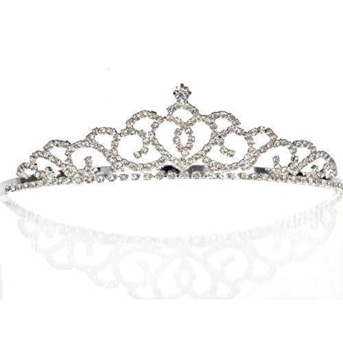 Bridal Wedding Tiara Crown 00175 free shipping