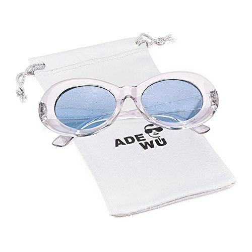sol de gafas Adewu Clout ovaladas Gafas Azul A Transparente IPq4Tx