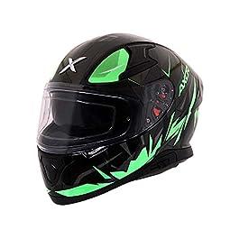 Axor Apex Hunter D/V Black Neon Green Helmet-XL