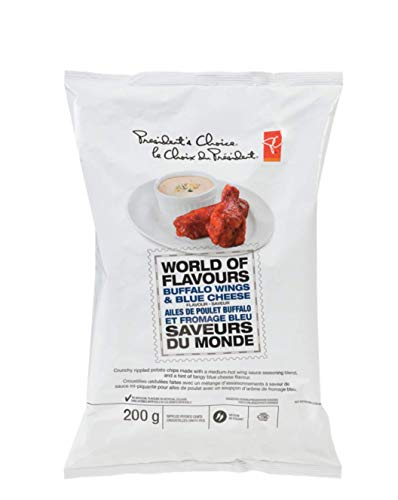 World Of Flavours - Buffalo Wings & Blue Cheese Potato Chips