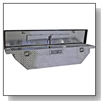 Ironton Slim Lo-Pro Aluminum Crossbed Truck Box - 60in. Box