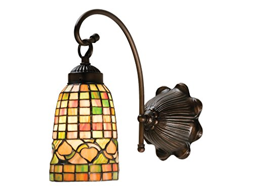 6 Inch W Tiffany Acorn Wall Sconce , Wall Sconces , ()