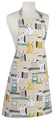 Chef Owl (Now Designs Basic Cotton Kitchen Chef's Apron, Hoos)