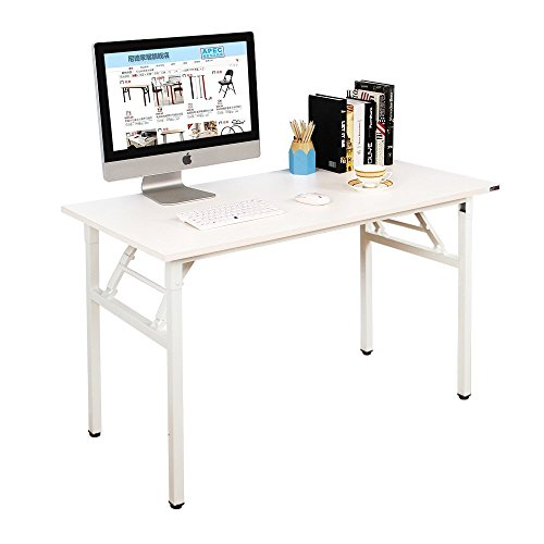 Need Computer Desk Office Desk 55″ Folding Table with BIFMA Certification Computer Table Workstation, AC5DW-140