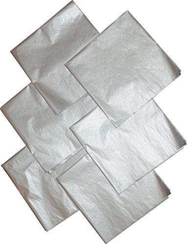Silver Tissue Paper, Premium Metallic,20