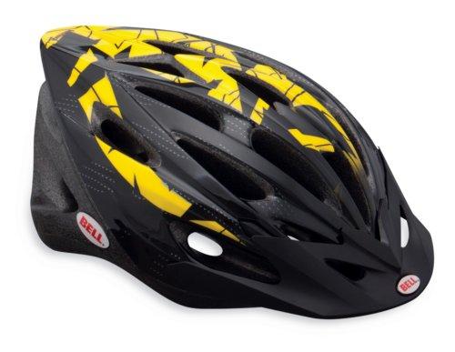 Bell Venture Bike Helmet, Yellow/Black Geometric, Universal Adult Size