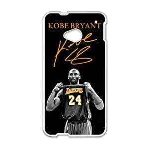 Kobe Bryant Design Plastic Case Cover For HTC M7