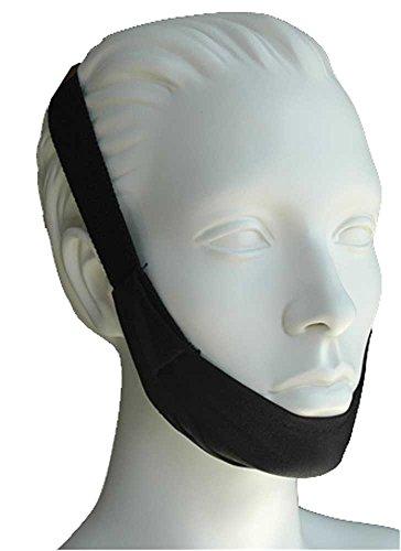 AG Premium Regular Black Chin Strap, Each (Cpap Supplies Chin Strap)