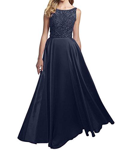 La Partykleider A Damen Perlen Navy Linie Dunkel Abendkleider Blau Ballkleider Abschlussballkleider Braut Rock Marie rYx1qwFr