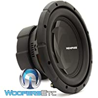 15-PRX1044 - Memphis Audio 10 250W RMS Dual 4-Ohm Voice Coil Power Reference Series Subwoofer