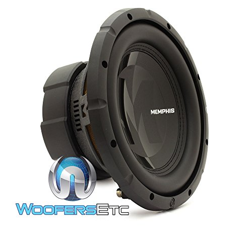15-PRX1044 – Memphis Audio 10″ 250W RMS Dual 4-Ohm Voice Coil Power Reference Series Subwoofer