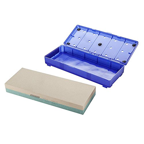 Norton Bench Stone - Norton 24335 Japanese-Style Combination Waterstone 220/1000 Grit, 8-Inch by 3-Inch by 1-Inch